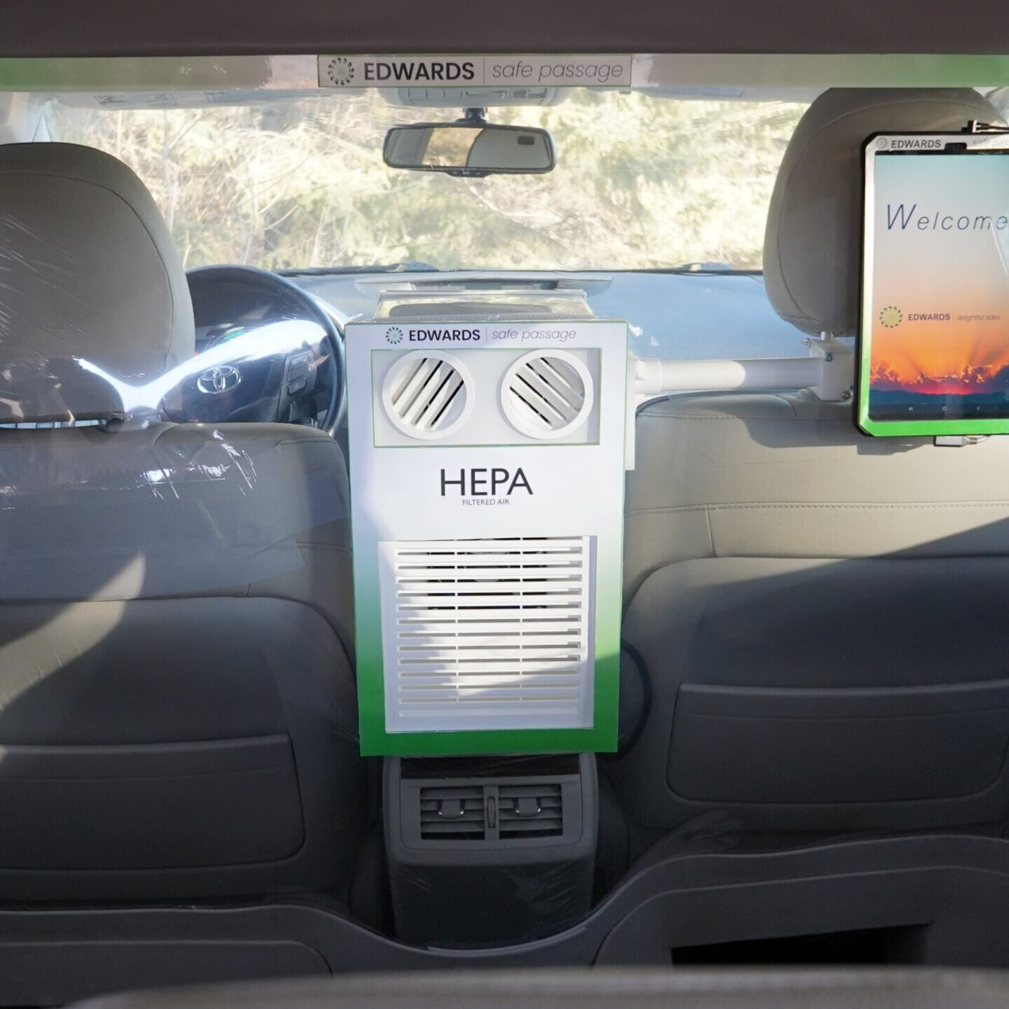 Edwards Ridecare HEPA Air filter